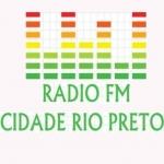 Logo da emissora Rádio FM Cidade Rio Preto