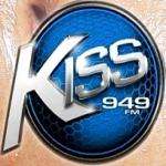 Logo da emissora Kiss 94.9 FM