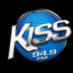 Logo da emissora Radio Kiss 94.9 FM