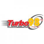 Logo da emissora Radio Turbo 98.3 FM