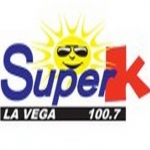 Logo da emissora Radio Super K 100.7 FM