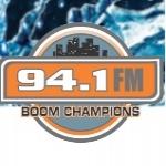 Logo da emissora Boom Champions 94.1 FM