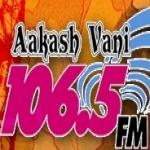 Logo da emissora Aakash Vani 106.5 FM