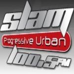 Logo da emissora Slam 100.5 FM