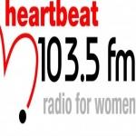 Logo da emissora Heartbeat 103.5 FM