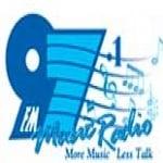 Logo da emissora Radio Music 97.1 FM