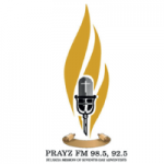 Logo da emissora Radio Prayz 101.5 FM