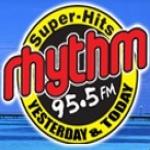 Logo da emissora Rhyrhm 95.5 FM