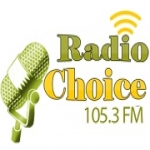 Logo da emissora Choice 105.3 FM