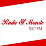 Logo da emissora Radio El Mundo 93.7 FM