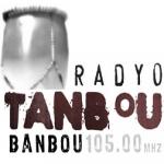 Logo da emissora Radio Tanbou 105 FM