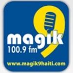 Logo da emissora Magik 100.9 FM