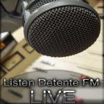 Logo da emissora Detente 94.1 FM