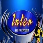 Logo da emissora Inter 91.9 FM