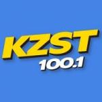 Logo da emissora Radio KZST 100.1 FM