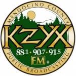 Logo da emissora Radio KZYX 90.7 FM