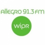 Logo da emissora Radio WIPR Allegro 91.3 FM