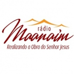Logo da emissora Rádio Maanaim ES