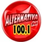 Logo da emissora Rádio Alternativa 100.1 FM