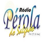 Logo da emissora R�dio P�rola do Salgado 87.9 FM