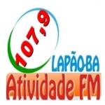 Logo da emissora Rádio Atividade 107.9 FM