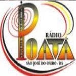 Logo da emissora R�dio Poat� 1560 AM