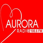 Logo da emissora Radio Aurora 100.6 FM