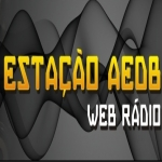 Logo da emissora Rádio Estação AEDB