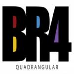 Logo da emissora Rádio BR4 Quadrangular