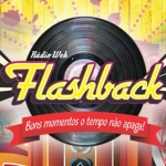 Logo da emissora Rádio Web Flashback