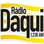 Logo da emissora Rádio Daqui Goiânia 1230 AM