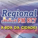 Logo da emissora R�dio Regional 87.7 FM
