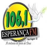 Logo da emissora R�dio Esperan�a 106.1 FM
