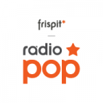 Logo da emissora Frispit Rádio Pop