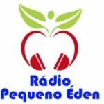 Logo da emissora Rádio Pequeno Éden
