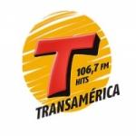 Logo da emissora Rádio Transamérica Hits 106.7 FM