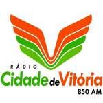 Logo da emissora Rádio Cidade de Vitória 850 AM