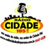 Logo da emissora R�dio Cidade 105.9 FM