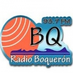Logo da emissora Radio Boqueron 93.7 FM