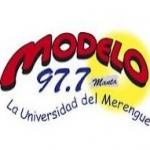 Logo da emissora Radio Modelo 97.7 FM
