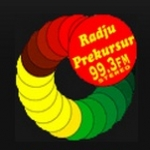 Logo da emissora Prekursur 99.3 FM