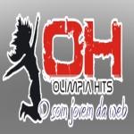 Logo da emissora R�dio Ol�mpia Hits