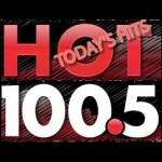 Logo da emissora Radio KCUF 100.5 FM