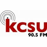 Logo da emissora Radio KCSU 90.5 FM
