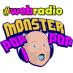 Logo da emissora Web Rádio Monster Pop