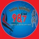 Logo da emissora R�dio Santo Ant�nio 98.7 FM