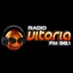 Logo da emissora Rádio Vitória 98.1 FM