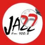 Logo da emissora Jazz 100.8 FM
