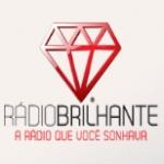 Logo da emissora Rádio Brilhante 100.3 FM