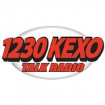 Logo da emissora Radio KEXO 1230 AM